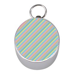 Stripes 2015 0401 Mini Silver Compasses