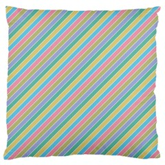 Stripes 2015 0401 Standard Flano Cushion Cases (One Side)