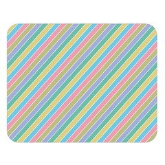 Stripes 2015 0401 Double Sided Flano Blanket (Large)