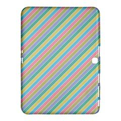 Stripes 2015 0401 Samsung Galaxy Tab 4 (10.1 ) Hardshell Case