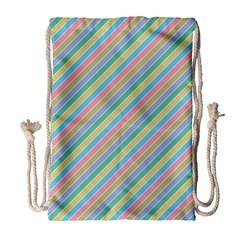 Stripes 2015 0401 Drawstring Bag (Large)