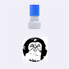 Menschen   Interesting Species! Rubber Round Stamps (small)