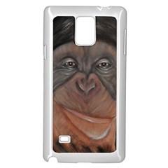 Menschen   Interesting Species! Samsung Galaxy Note 4 Case (white)