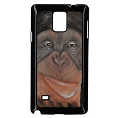 Menschen - Interesting Species! Samsung Galaxy Note 4 Case (Black)