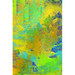 Abstract in Blue, Green, Copper, and Gold 5.5  x 8.5  Notebooks