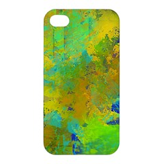 Abstract In Blue, Green, Copper, And Gold Apple Iphone 4/4s Hardshell Case