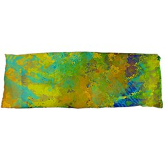 Abstract in Blue, Green, Copper, and Gold Body Pillow Cases Dakimakura (Two Sides)