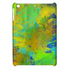 Abstract In Blue, Green, Copper, And Gold Apple Ipad Mini Hardshell Case
