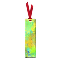 Abstract In Blue, Green, Copper, And Gold Small Book Marks