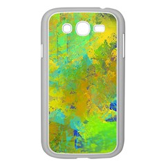 Abstract in Blue, Green, Copper, and Gold Samsung Galaxy Grand DUOS I9082 Case (White)