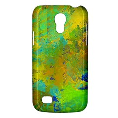 Abstract In Blue, Green, Copper, And Gold Galaxy S4 Mini