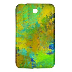 Abstract in Blue, Green, Copper, and Gold Samsung Galaxy Tab 3 (7 ) P3200 Hardshell Case