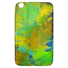 Abstract in Blue, Green, Copper, and Gold Samsung Galaxy Tab 3 (8 ) T3100 Hardshell Case