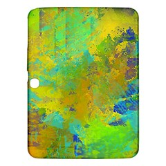 Abstract in Blue, Green, Copper, and Gold Samsung Galaxy Tab 3 (10.1 ) P5200 Hardshell Case