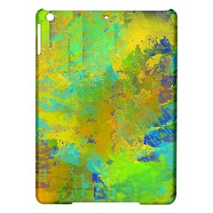 Abstract in Blue, Green, Copper, and Gold iPad Air Hardshell Cases
