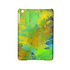 Abstract in Blue, Green, Copper, and Gold iPad Mini 2 Hardshell Cases