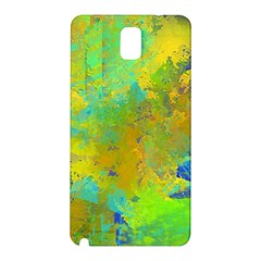 Abstract in Blue, Green, Copper, and Gold Samsung Galaxy Note 3 N9005 Hardshell Back Case