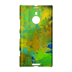 Abstract in Blue, Green, Copper, and Gold Nokia Lumia 1520