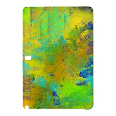 Abstract In Blue, Green, Copper, And Gold Samsung Galaxy Tab Pro 12 2 Hardshell Case