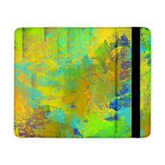 Abstract in Blue, Green, Copper, and Gold Samsung Galaxy Tab Pro 8.4  Flip Case