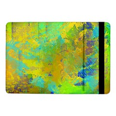 Abstract in Blue, Green, Copper, and Gold Samsung Galaxy Tab Pro 10.1  Flip Case