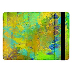 Abstract in Blue, Green, Copper, and Gold Samsung Galaxy Tab Pro 12.2  Flip Case