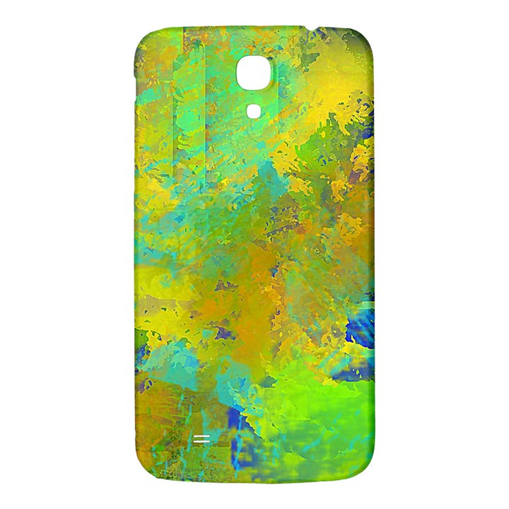 Abstract in Blue, Green, Copper, and Gold Samsung Galaxy Mega I9200 Hardshell Back Case