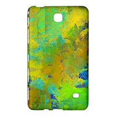 Abstract in Blue, Green, Copper, and Gold Samsung Galaxy Tab 4 (7 ) Hardshell Case