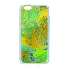 Abstract in Blue, Green, Copper, and Gold Apple Seamless iPhone 6 Case (Color)