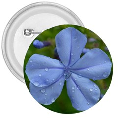 Blue Water Droplets 3  Buttons