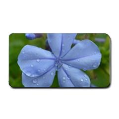 Blue Water Droplets Medium Bar Mats