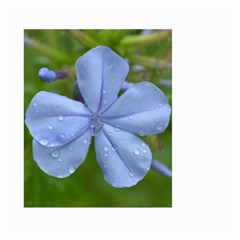 Blue Water Droplets Large Garden Flag (two Sides)