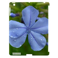 Blue Water Droplets Apple Ipad 3/4 Hardshell Case (compatible With Smart Cover)