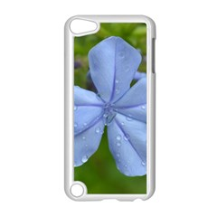 Blue Water Droplets Apple Ipod Touch 5 Case (white)