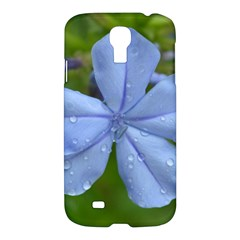 Blue Water Droplets Samsung Galaxy S4 I9500/i9505 Hardshell Case