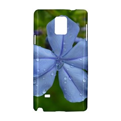 Blue Water Droplets Samsung Galaxy Note 4 Hardshell Case