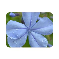 Blue Water Droplets Double Sided Flano Blanket (Mini)
