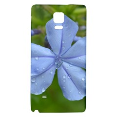Blue Water Droplets Galaxy Note 4 Back Case
