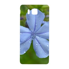 Blue Water Droplets Samsung Galaxy Alpha Hardshell Back Case