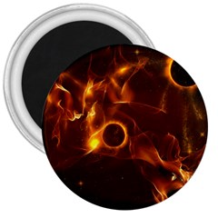 Fire And Flames In The Universe 3  Magnets