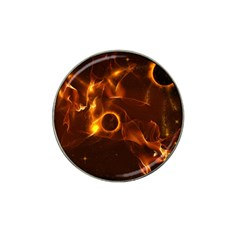 Fire And Flames In The Universe Hat Clip Ball Marker (10 Pack)