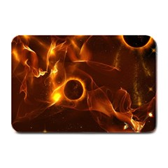 Fire And Flames In The Universe Plate Mats