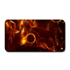 Fire And Flames In The Universe Medium Bar Mats