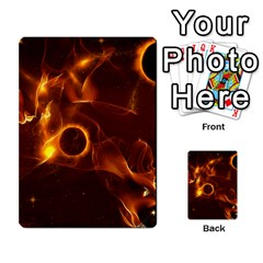 Fire And Flames In The Universe Multi Purpose Cards (rectangle)