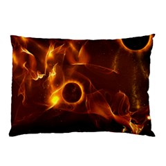 Fire And Flames In The Universe Pillow Cases