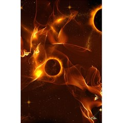 Fire And Flames In The Universe 5.5  x 8.5  Notebooks