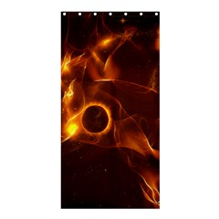 Fire And Flames In The Universe Shower Curtain 36  X 72  (stall)