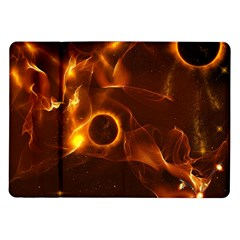 Fire And Flames In The Universe Samsung Galaxy Tab 10 1  P7500 Flip Case