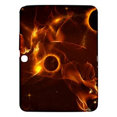 Fire And Flames In The Universe Samsung Galaxy Tab 3 (10 1 ) P5200 Hardshell Case