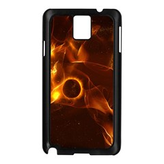 Fire And Flames In The Universe Samsung Galaxy Note 3 N9005 Case (black)